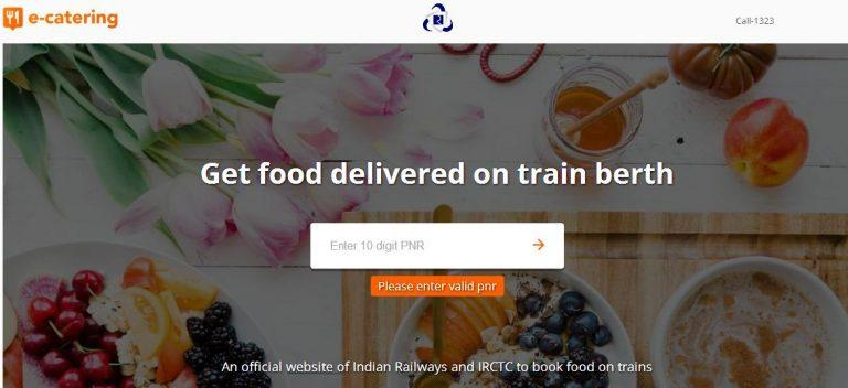 How to Order Food in Train | Online or Pantry or Mobile App