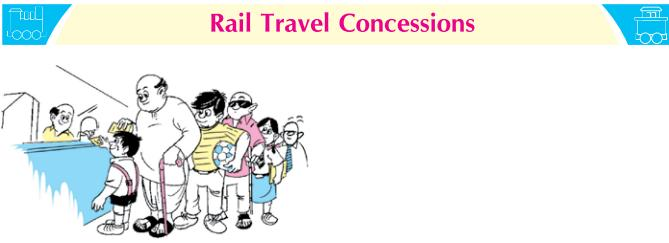 Concession Rules: Indian Railway