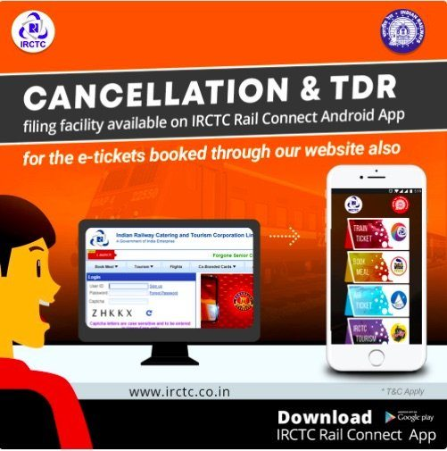 TDR Rule in Indian Railway