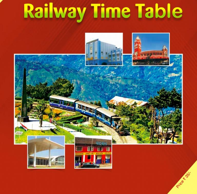 NEW TRAIN TIME TABLE 2021 Details