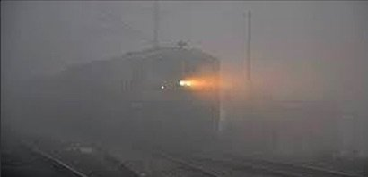 Fog affected trains status