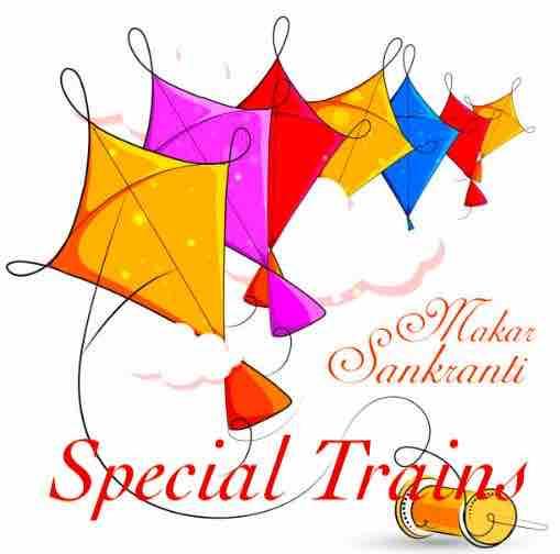 Makar Sankranti Train Details 2019