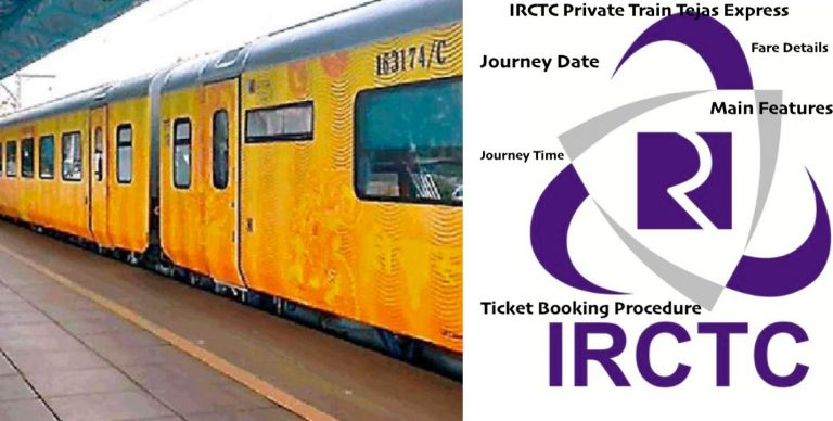 IRCTC Private Trains Fare/Booking Details