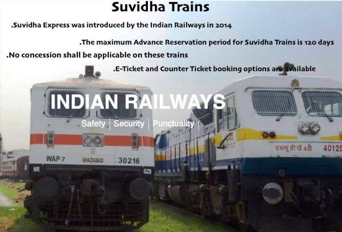 Suvidha Trains Full Details
