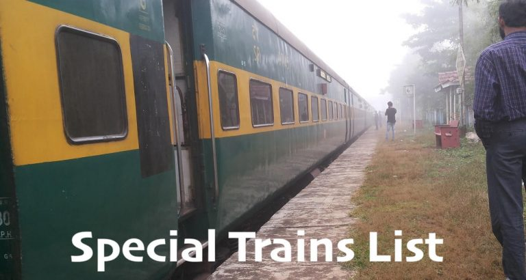 Special Trains List 2021: Indian Railway