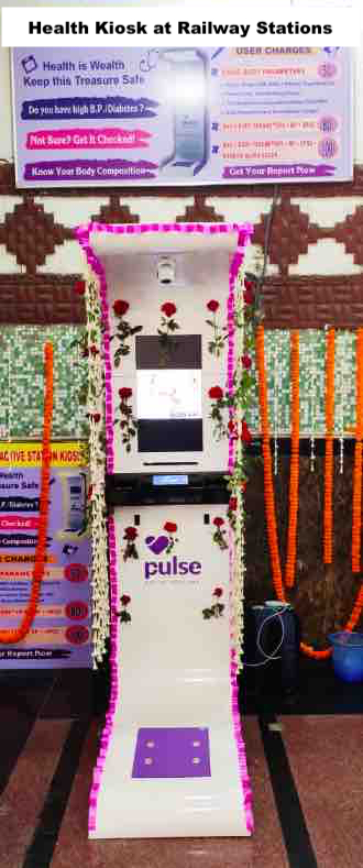Health Kiosk at Railway Stations