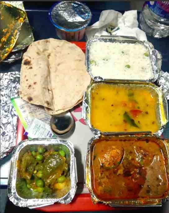 IRCTC Food / Catering Menu