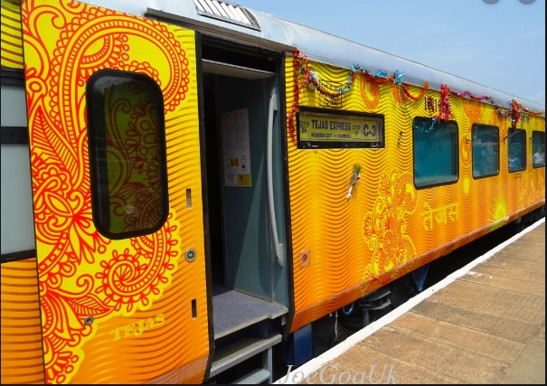 Ahmedabad – Mumbai IRCTC TEJAS EXPRESS TRAINS