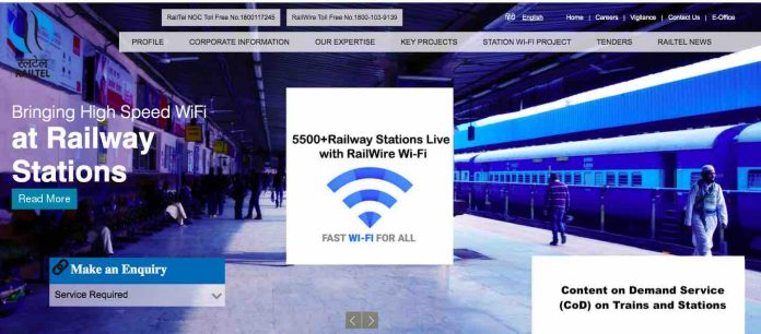 Content on Demand Service (CoD) on Trains and Stations by Indian Railway