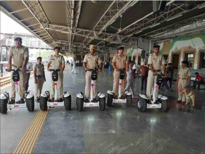 Segways at Railway Stations