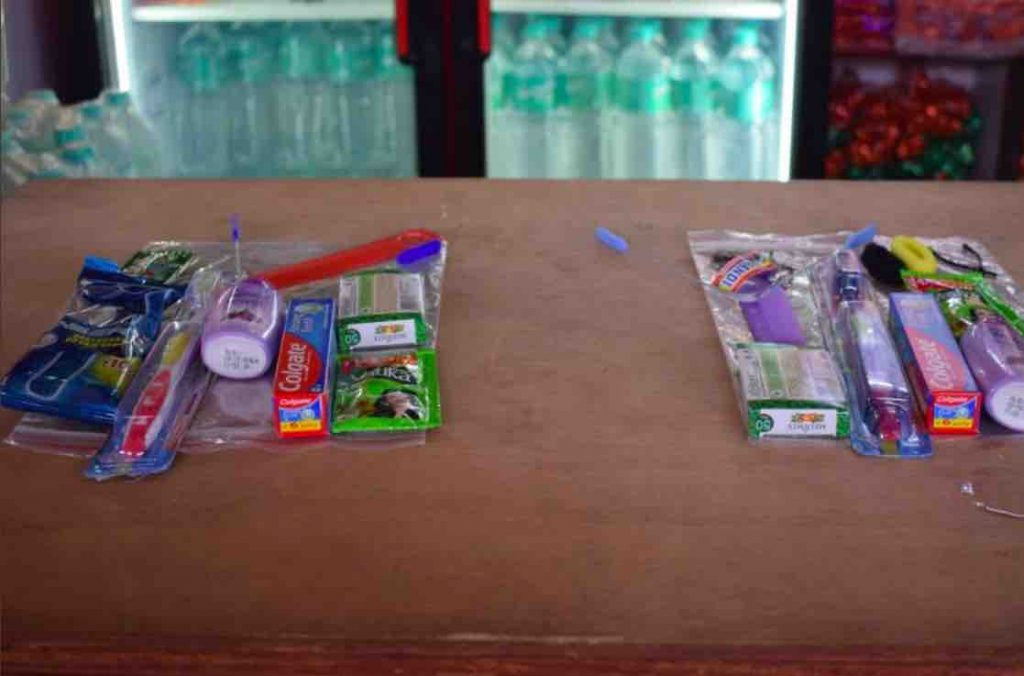 Travelling Kit at Railway Stations