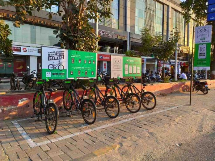 Cycle at Metro Stations For Rent