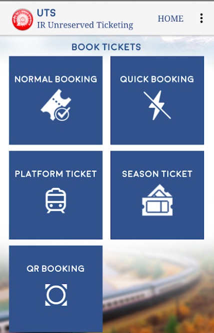 QR Code For Train Ticket Booking