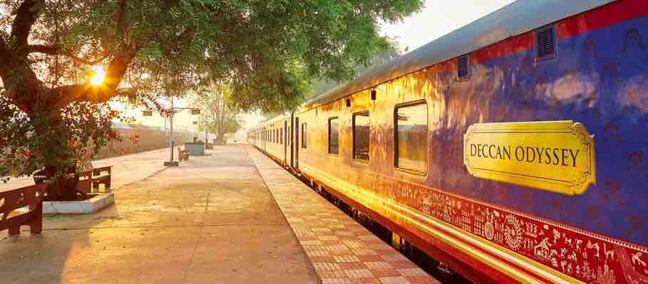Deccan Odyssey Tourist Train by Indian Railway