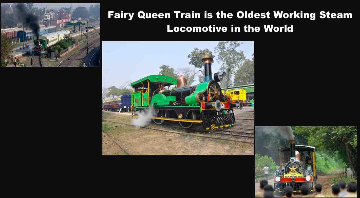 Fairy Queen Train / Steam Express