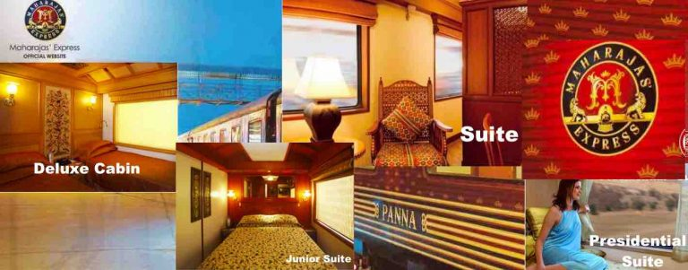 Maharajas' Express Train Details