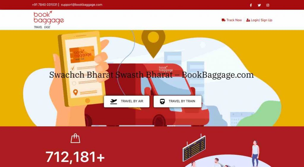 End to End Luggage/Parcel service Facility in Railway Stations
