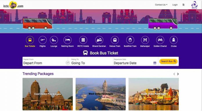 Online Bus Booking by Railway